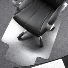Floortex Polycarbonate Rectangular Chair Mat For
