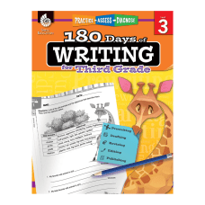 Shell Education 180 Days Of Writing