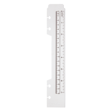 TUL Discbound Plastic Ruler 7 Clear