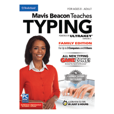 Broderbund Mavis Beacon Teaches Typing Powered