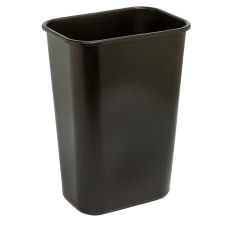 Highmark Rectangular Plastic Wastebasket 1025 Gallons