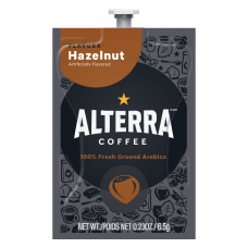 FLAVIA Coffee ALTERRA Hazelnut Single Serve