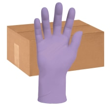 Kimberly Clark Nitrile Exam Gloves Lavender