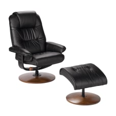 Southern Enterprises Naples Bonded Leather Reclining