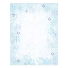 Great Papers Blue Flakes Letterhead Paper
