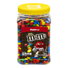 M Ms Milk Chocolate Candies Jar