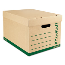 Universal Record Standard Duty Storage Boxes