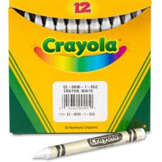Crayola Bulk Crayons White 12 Box