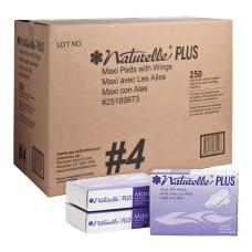 Rochester Midland Naturelle Maxi Pads With