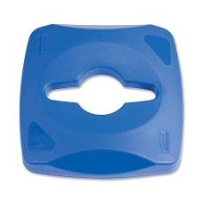 Rubbermaid Square Recycling Container Combo Lid