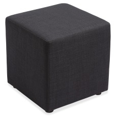 Lorell Collaborative Seating Fabric Cube Chair