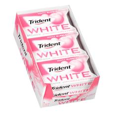Trident White Minty Bubble Sugar Free