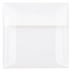 JAM Paper Translucent Vellum Invitation Envelopes