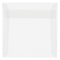 JAM Paper Translucent Vellum Invitation Envelopes