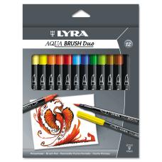 Dixon LYRA Aquabrush Duo Markers BroadFine