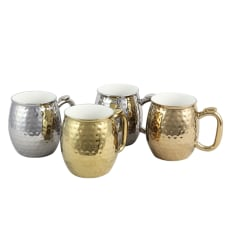 Gibson Home Glimmer 4 Piece Cup