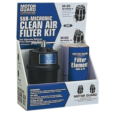 Compressed Air Filter Kit 2 ElementsMounting