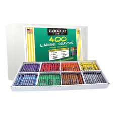Sargent Art Large Crayons Box Of