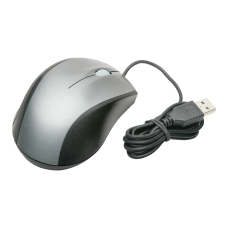 SKILCRAFT Optical Ergonomic Mouse BlackSilver AbilityOne