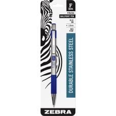 Zebra Pen F 301 Stainless Steel