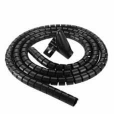 Ativa Cable Management Tube 776 Black