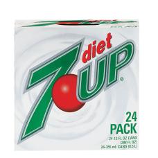 Zero Sugar 7 Up Soda 12