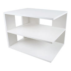 Victor Pure White Collection Corner Shelf