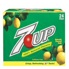 7UP 12 Oz Case Of 24
