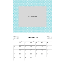 Office Depot Brand Photo Wall Calendar