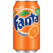 Fanta Orange 12 Oz Cans Case