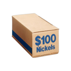PM Company Coin Boxes Nickels 10000