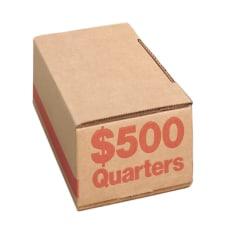 PM Company Coin Boxes Quarters 50000