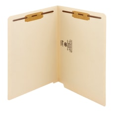 Smead End Tab Folders With Fastener