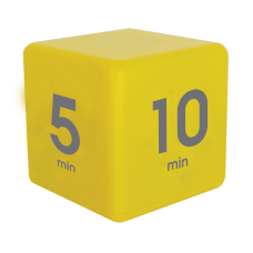 Datexx Time Cube Preset Timer Yellow