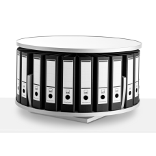 Moll Deluxe Desktop Binder And File