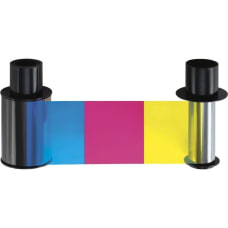 Fargo Ribbon Cartridge YMCKO Dye Sublimation