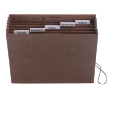 Smead Subject Expanding File 6 Pocket