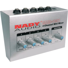 Nady MM 141 4 Channel Mini