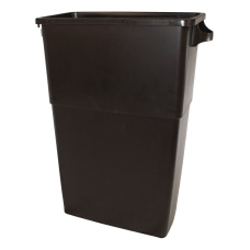 Thin Bin 23 gal Brown Container