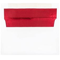 JAM Paper Foil Lined Invitation Envelopes