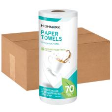Highmark 1 Ply Paper Towels 100percent