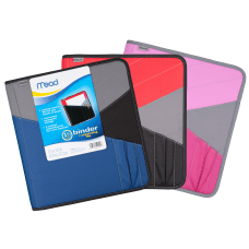 Mead Zipper 3 Ring Binder With