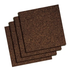 Quartet Cork Bulletin Board Tiles 12