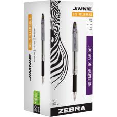 Zebra Pen Jimnie Soft Rubber Grip