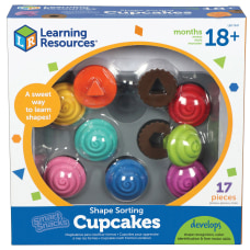 Learning Resources Smart Snacks Shape Sorting