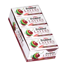Trident Layers Cherry And Lime Gum