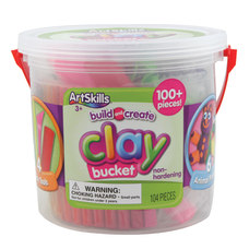 Artskills Clay Bucket Assorted Colors