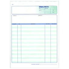 Custom Carbonless Business Forms Pre Formatted