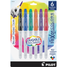 Pilot FriXion Colors Erasable Marker Pens