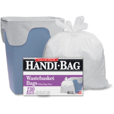 Webster Handi Bag Wastebasket Bags 8